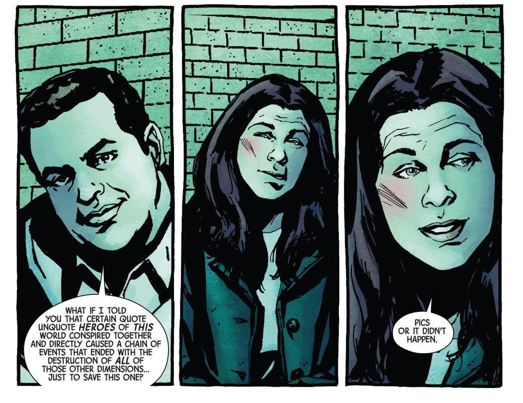 В пятом номере Джессики Джонс есть неожиданная отсылка к Secret Wars | Канобу - Изображение 11106