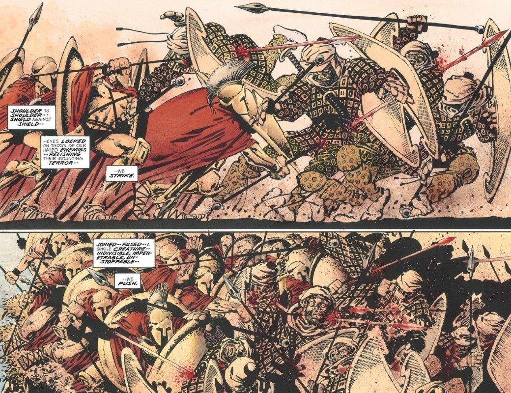 Что нетак с«Ксерксом» Фрэнка Миллера— сомнительным приквелом к«300 спартанцев» | Канобу - Изображение 9654