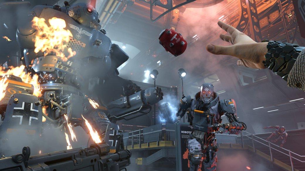 30 главных игр 2017 года. Wolfenstein 2: The New Colossus— Тарантинобы одобрил. - Изображение 2