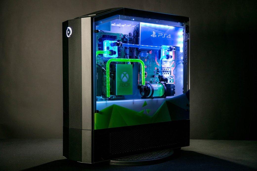 Мечта геймера: под одним корпусом системы Big Oнаходится ПК, PS4Pro, Xbox One XиNintendo Switch   Канобу - Изображение 7937