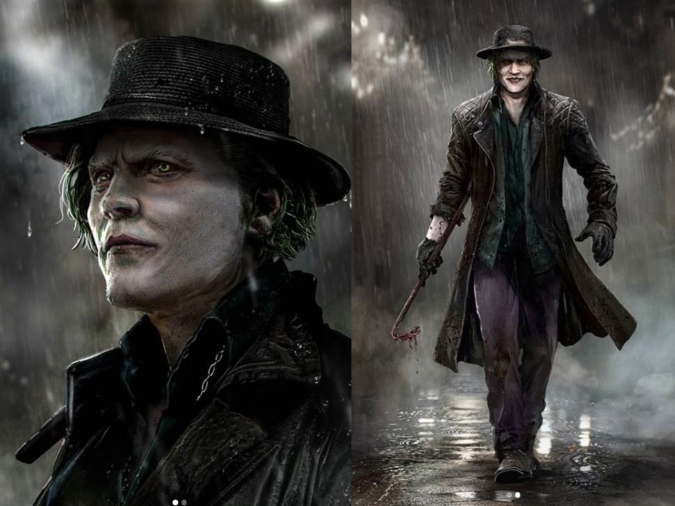 Джонни Депп вобразе Джокера. Это новый арт Bosslogic | Канобу - Изображение 6002