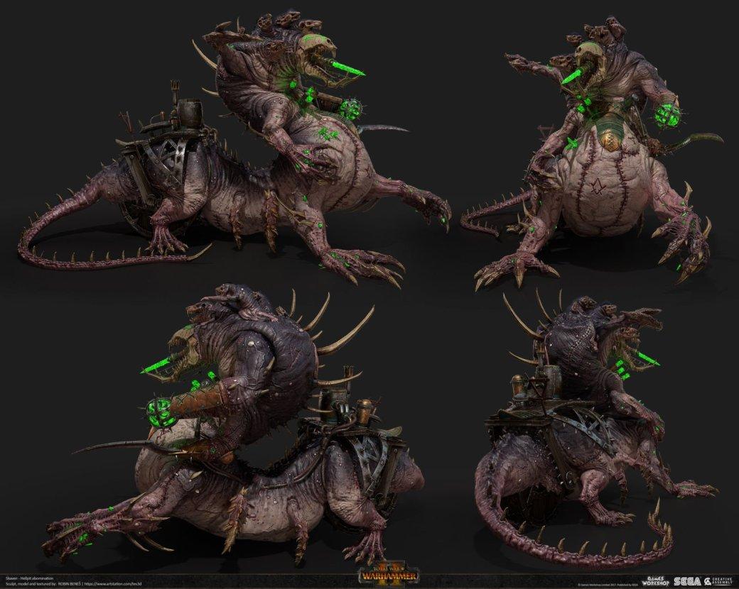 Взгляните напотрясающие концепт-арты Total War: Warhammer II. - Изображение 30