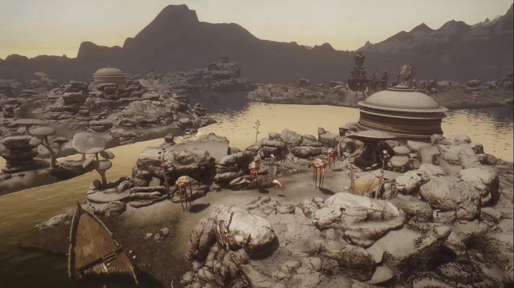 Авторы мода Beyond Skyrim: Morrowind выпустили ролик спотрясающе красивыми пейзажами   Канобу - Изображение 8597
