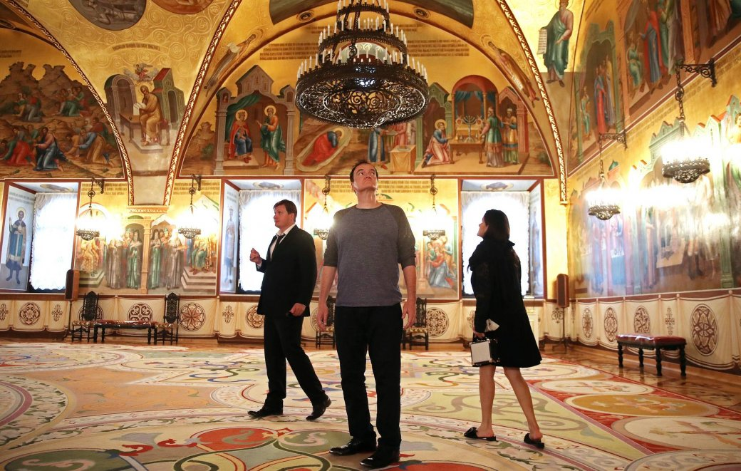 Квентин Тарантино посетил Москву! Мединский провел ему экскурсию | Канобу - Изображение 9