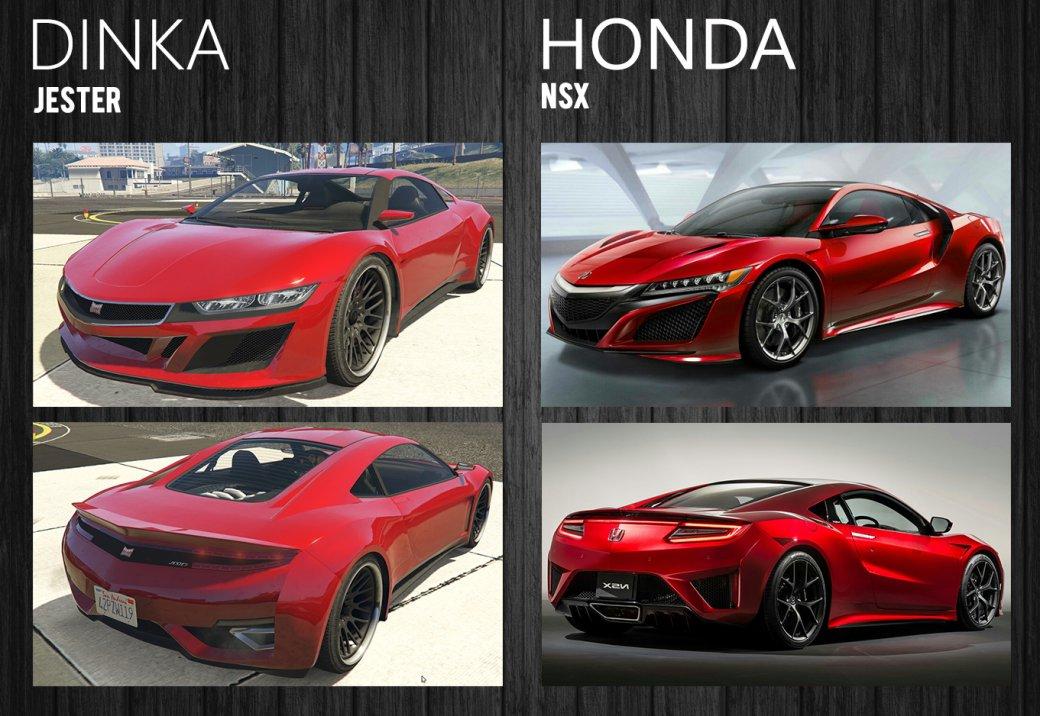 Скаких автомобилей скопированы машины вGTA5? Рассказываем ипоказываем | Канобу - Изображение 13