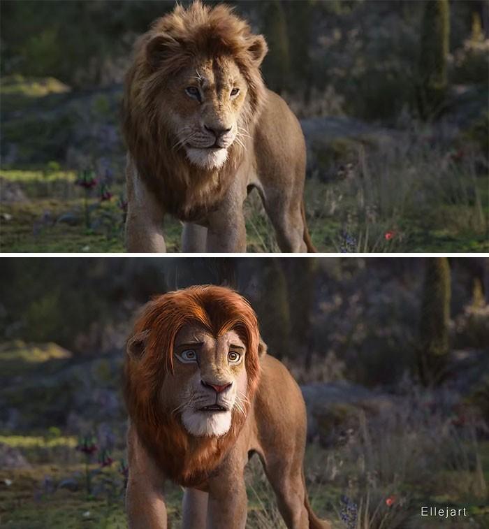 Художник перерисовал персонажей ремейка «Короля льва» в стиле оригинального мультфильма | Канобу - Изображение 8136