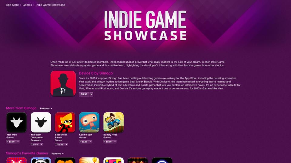 В App Store открылся раздел с играми независимых разработчиков  | Канобу - Изображение 691