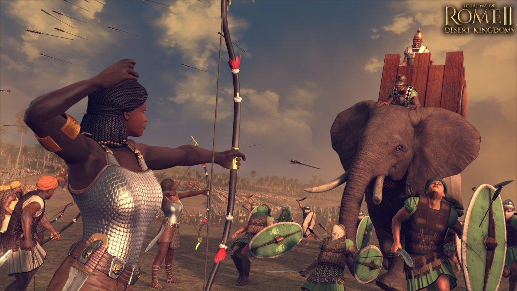 Воины пустыни придут в Total War: Rome 2. Анонсировано дополнение Desert Kingdoms Culture Pack. - Изображение 1
