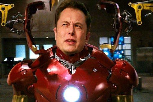 Одна изразработок Илона Маска была вдохновлена «Железным Человеком2»