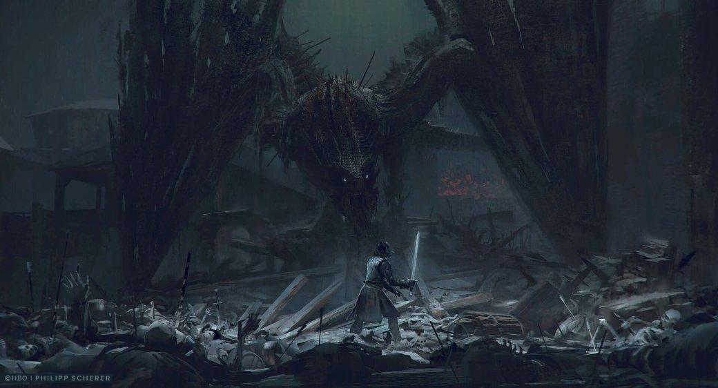 Художник выложил концепт-арты к8 сезону «Игры престолов». Иххоть сейчас ставь нарабочий стол | Канобу - Изображение 679