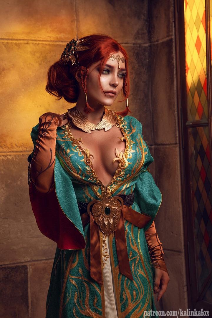Соблазнительная иочаровательная Трисс Меригольд вновом косплее «Ведьмака» | Канобу - Изображение 1419