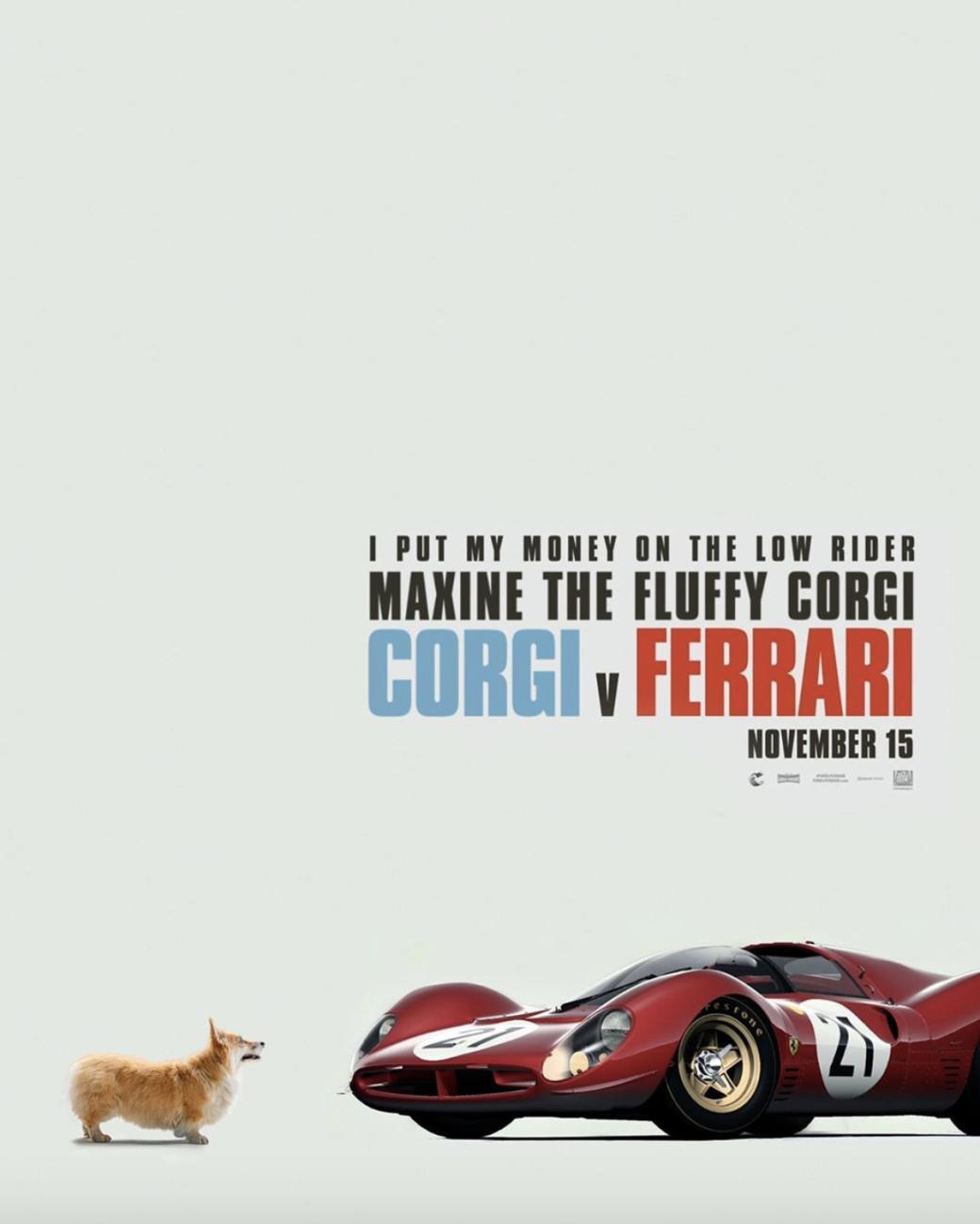 Как моглибы выглядеть постеры фильмов, еслибы наних были корги | Канобу - Изображение 1298