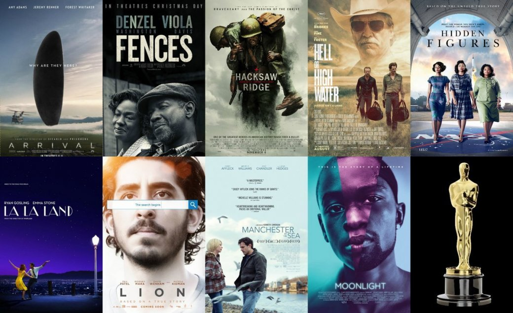 Гайд по фильмам «Оскара-2017»: Что стоит смотреть? | Канобу - Изображение 1