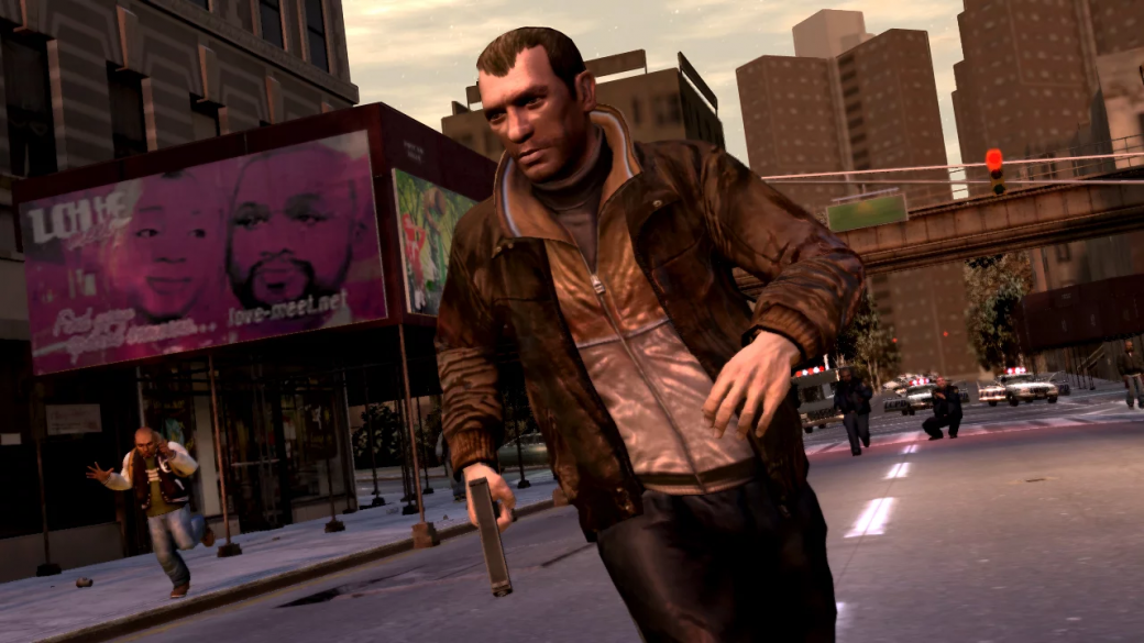Гифка дня: экстренное катапультирование вGrand Theft Auto4   Канобу - Изображение 1