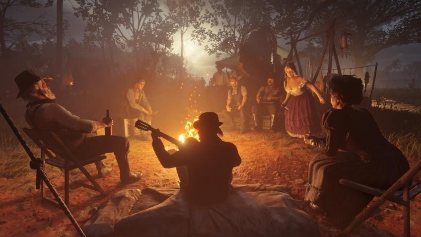 В Red Dead Redemption 2 сделали упор на интерактивность игрового мира, но как именно? Новые детали! . - Изображение 2