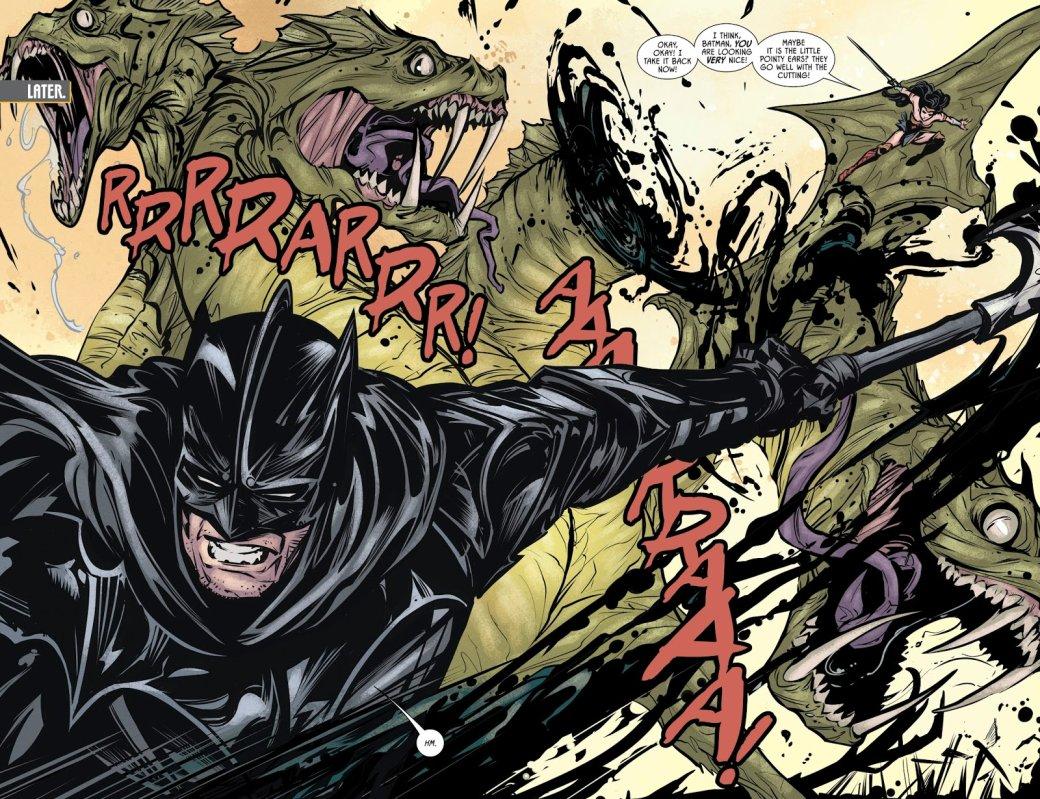 Вновом номере «Бэтмена» Темный рыцарь надел настоящие доспехи, чтобы сразиться сдемонами. - Изображение 3