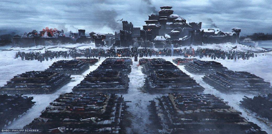 Художник выложил концепт-арты к8 сезону «Игры престолов». Иххоть сейчас ставь нарабочий стол | Канобу - Изображение 677