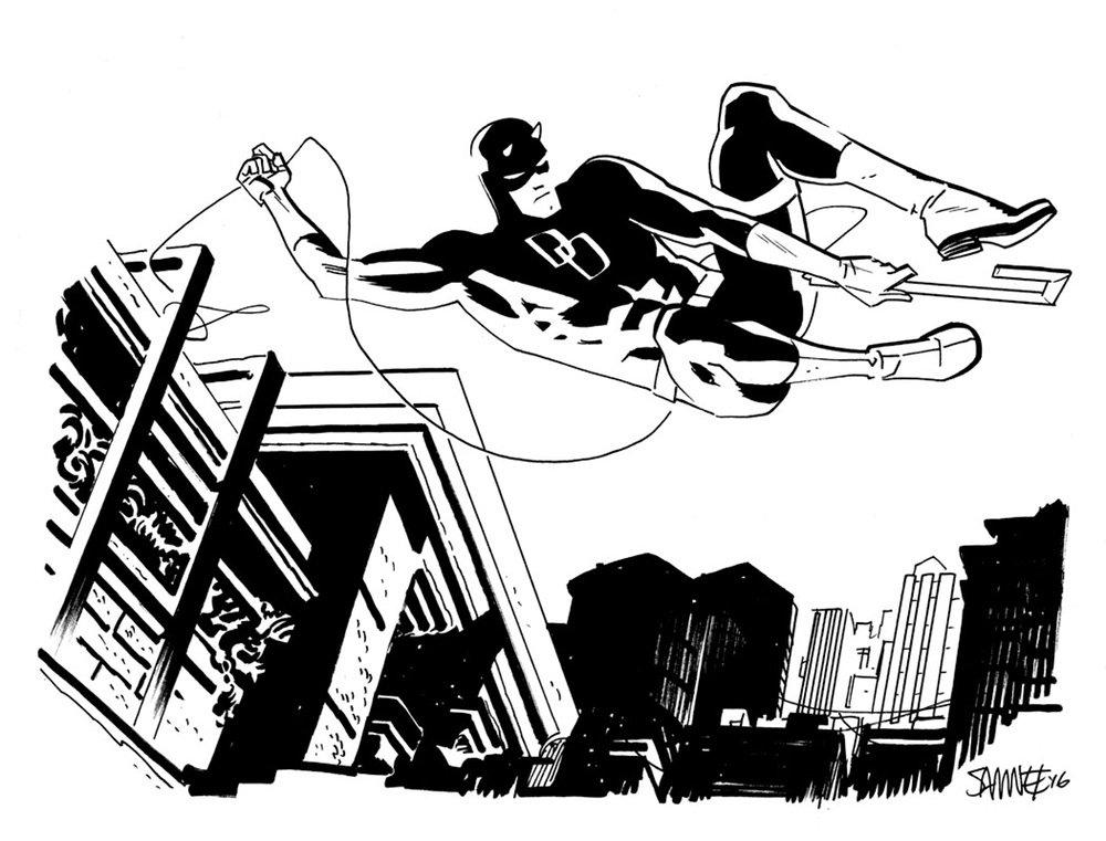 Супергерои Marvel и DC в рисунке Криса Сомни | Канобу - Изображение 8819