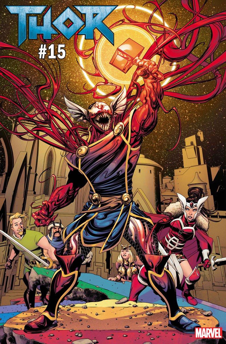 Какбы выглядели Железный человек, Халк, Сорвиголова идругие герои, еслибы ихподчинил Карнаж? | Канобу - Изображение 8067