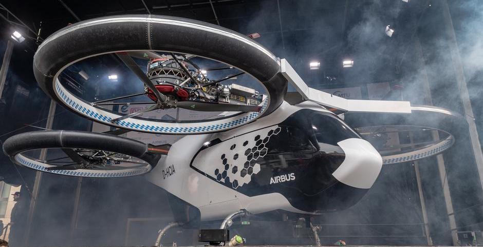 Ачто это внебе? Это птица? Это самолет? Нет, это воздушное беспилотное электротакси Airbus | Канобу - Изображение 10509
