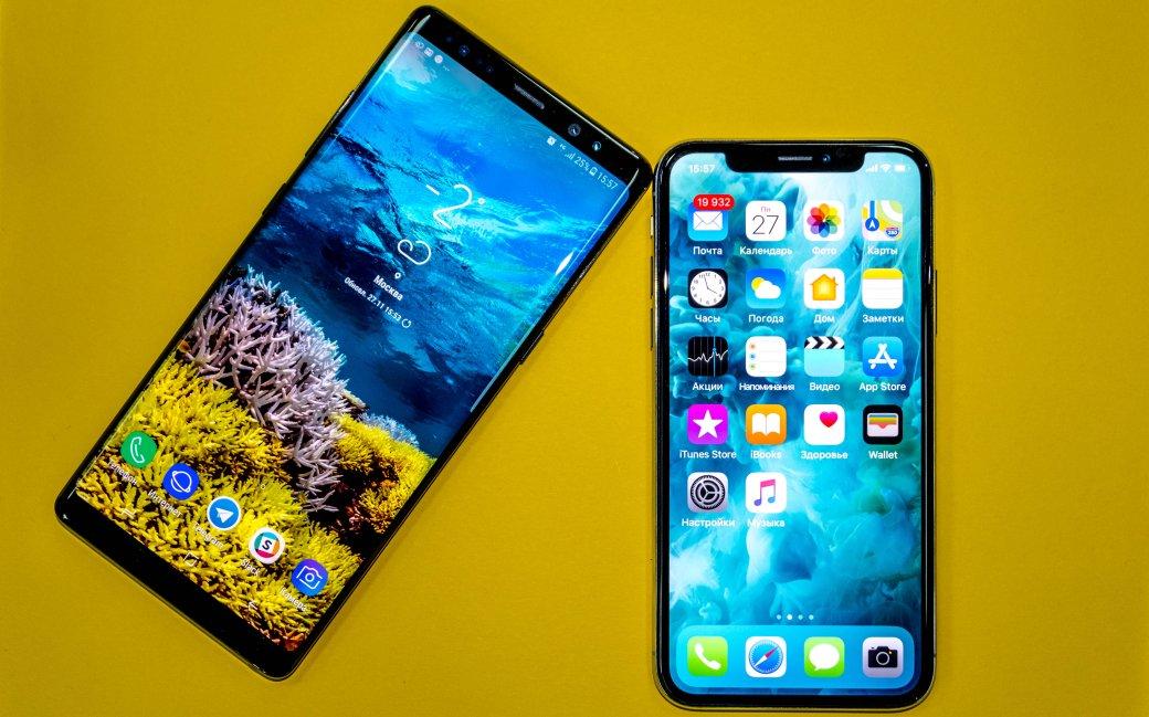 iPhone Xпротив Galaxy Note8: битва камер самых дорогих смартфонов 2017. Что круче?. - Изображение 1