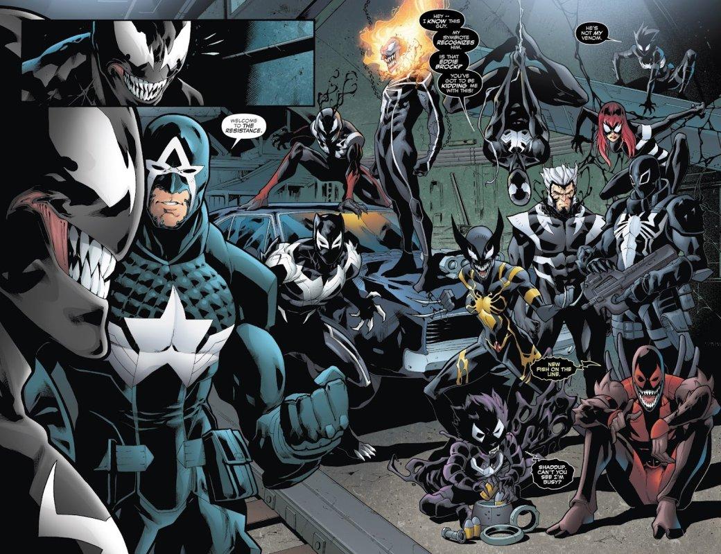 Venomverse: почему комикс овойне Веномов изразных вселенных неудался | Канобу - Изображение 1