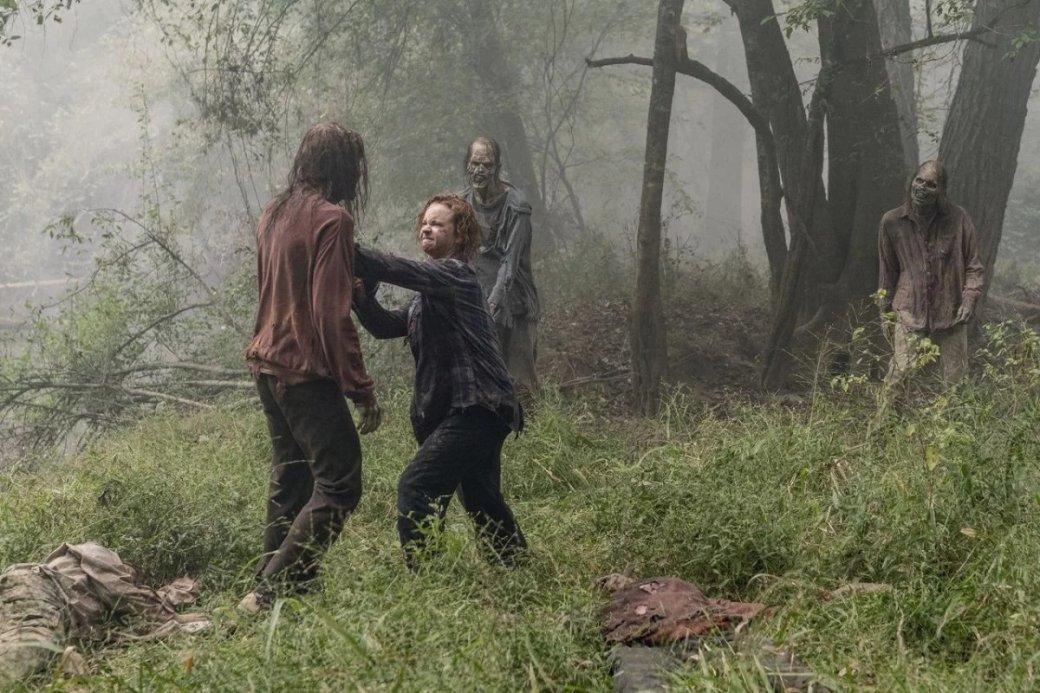 Что показали в12 серии 10 сезона «Ходячих мертвецов». Смерть злодея иХиллтоп вогне | Канобу - Изображение 3467