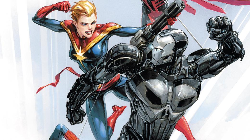 Каратель вброне Железного человека против вселенной Marvel: кто кого?   Канобу