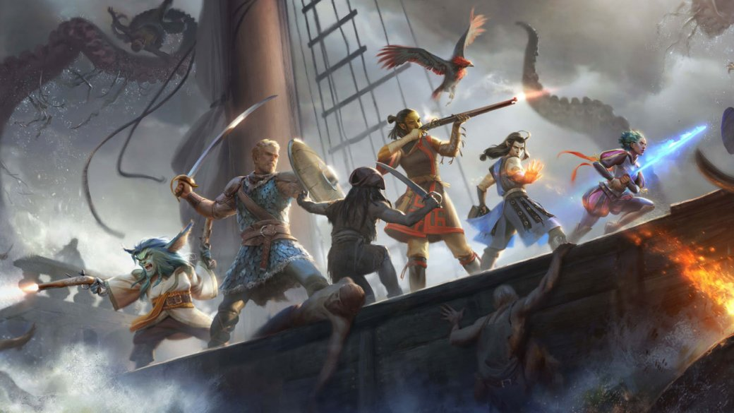 Pillars of Eternity 2: Deadfire выйдет на PS4, Xbox One и Switch. Вот тогда и поиграем!  | Канобу - Изображение 1