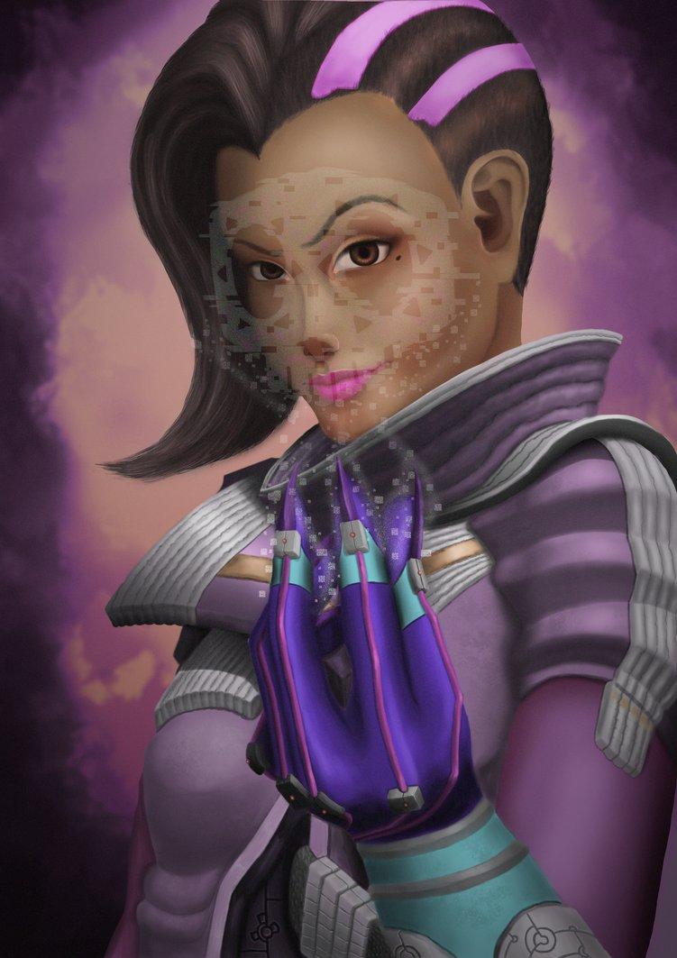 Как фанаты Overwatch представляют себе Сомбру   Канобу - Изображение 8