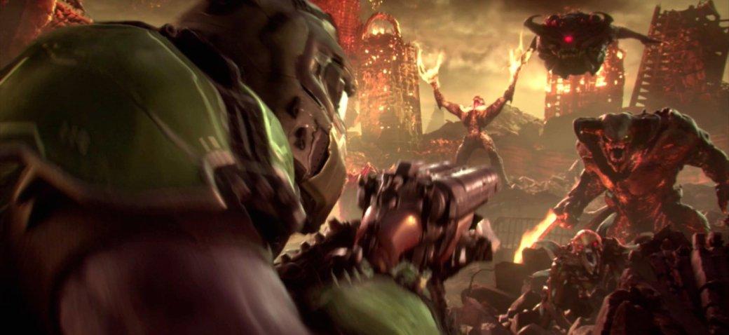 Демоны, бегите! Первый геймплей Doom Eternal полон жестокости и брутальности | Канобу - Изображение 1