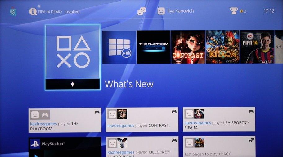 Интерфейс PlayStation 4 | Канобу - Изображение 1