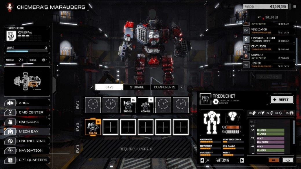 Суть. BattleTech— отличная смесь настольной игры, XCOM имехов | Канобу - Изображение 552