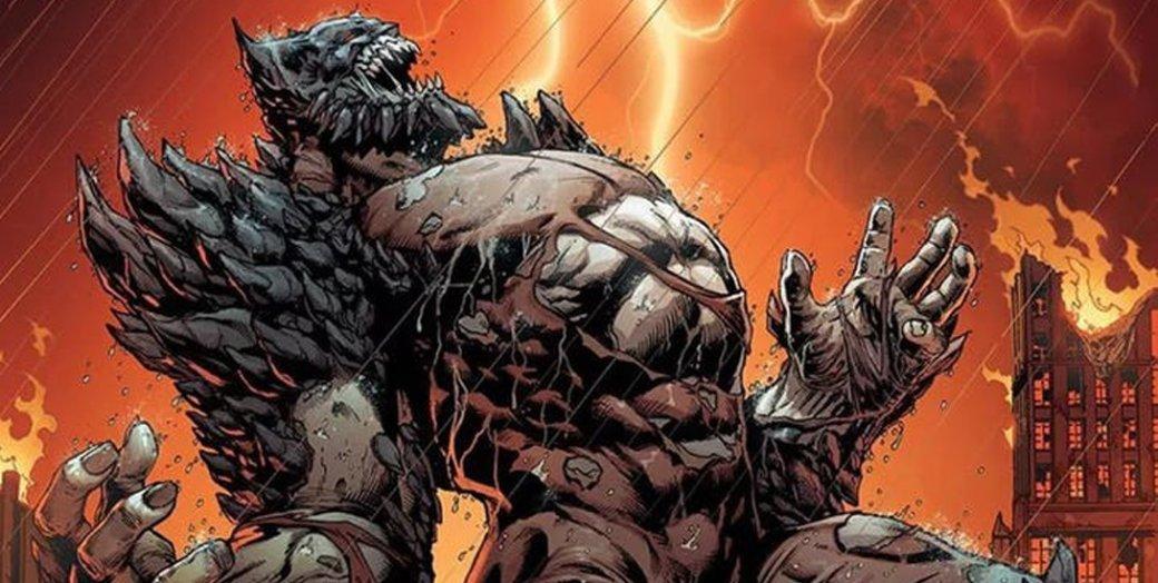 Художник показал ранний концепт Думсдэя для «Бэтмен против Супермена». Выглядит по-комиксному   Канобу - Изображение 4555