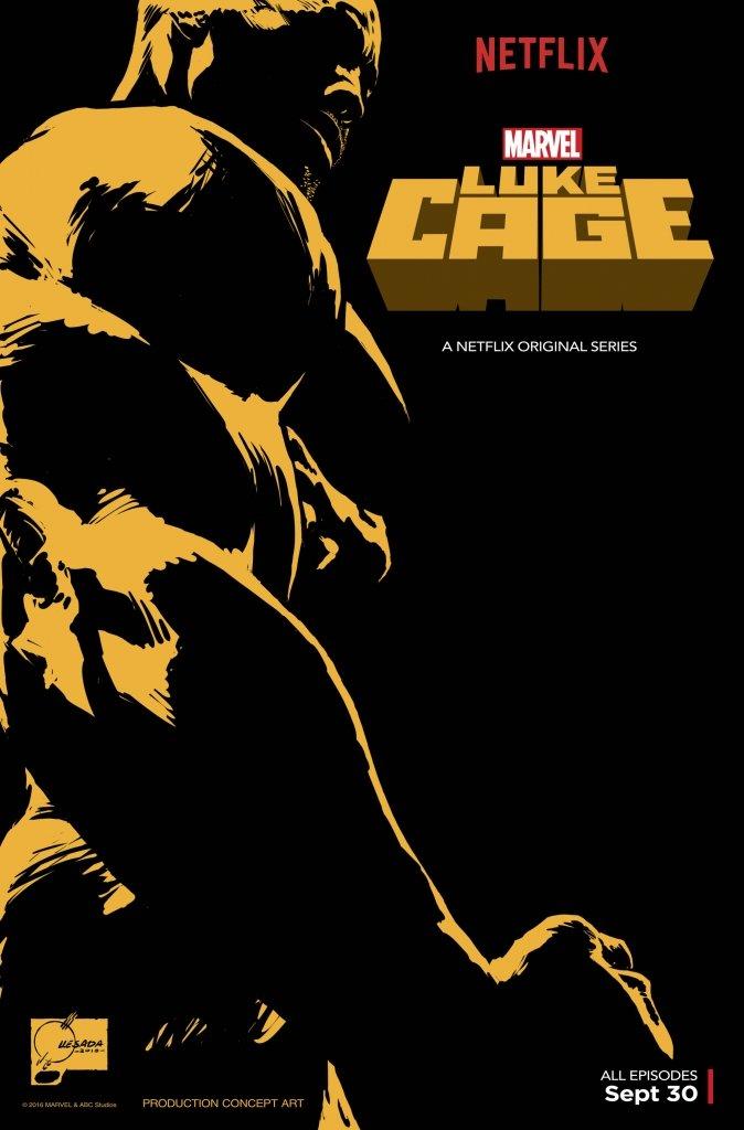 Джо Кесада представил шикарный постер Люка Кейджа для сериала Netflix | Канобу - Изображение 6887