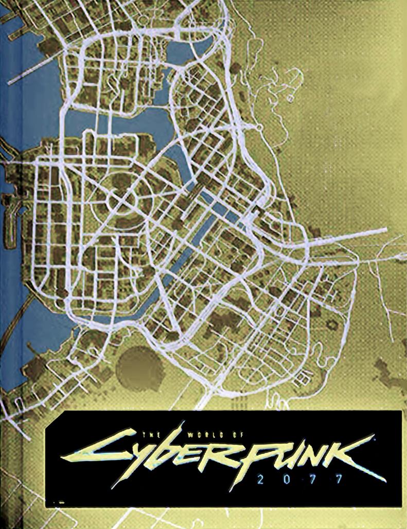 Всети появилась карта игрового мира Cyberpunk 2077 | - Изображение 0