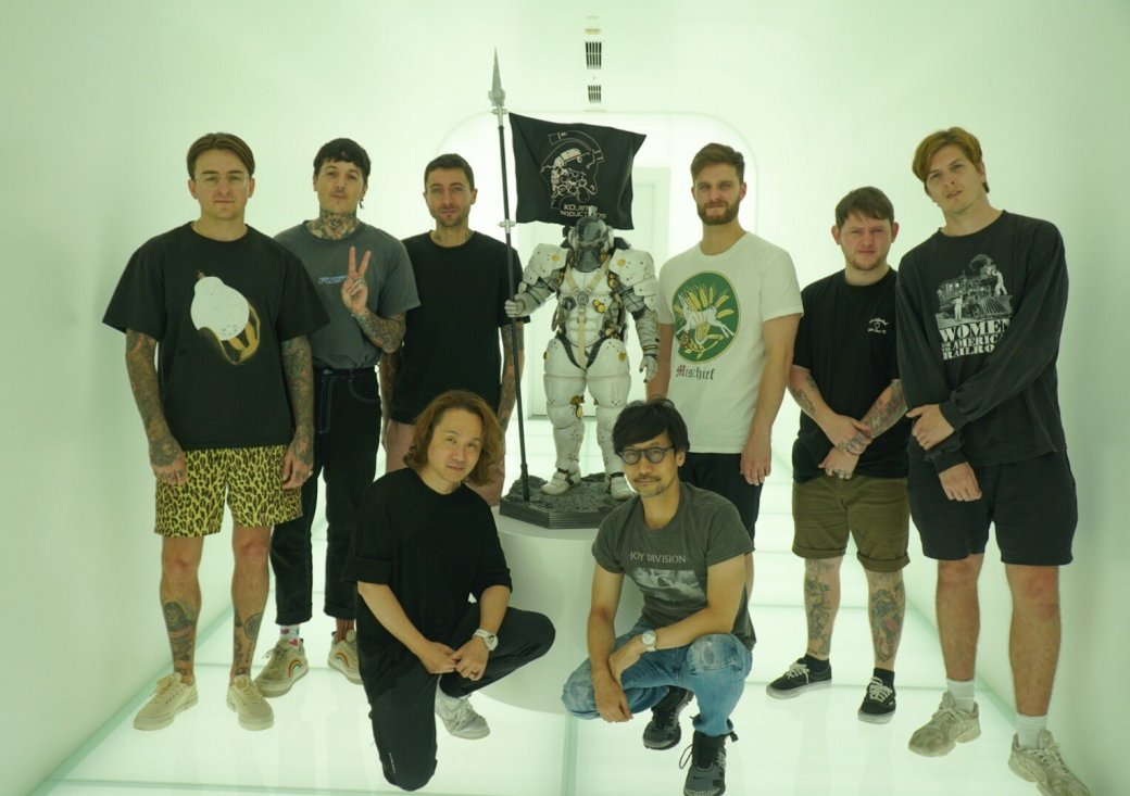 Bring Me The Horizon зазвучит в Death Stranding? Британская рок-группа в гостях у Хидео Кодзимы!  | Канобу - Изображение 1