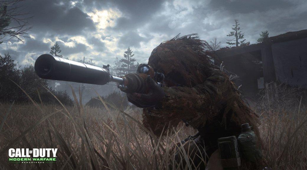 Сравнение графики ремастера Call ofDuty: Modern Warfare соригиналом | Канобу