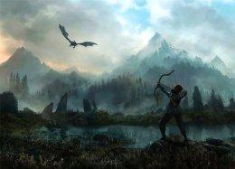 Гифка дня: противник вThe Elder Scrolls V: Skyrim, который лучшебы стал скейтером