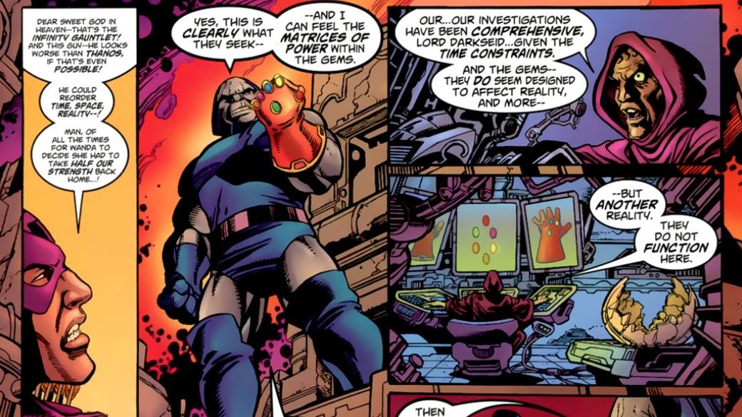 Какие персонажи Marvel, кроме Таноса, использовали Перчатку Бесконечности? | Канобу - Изображение 17