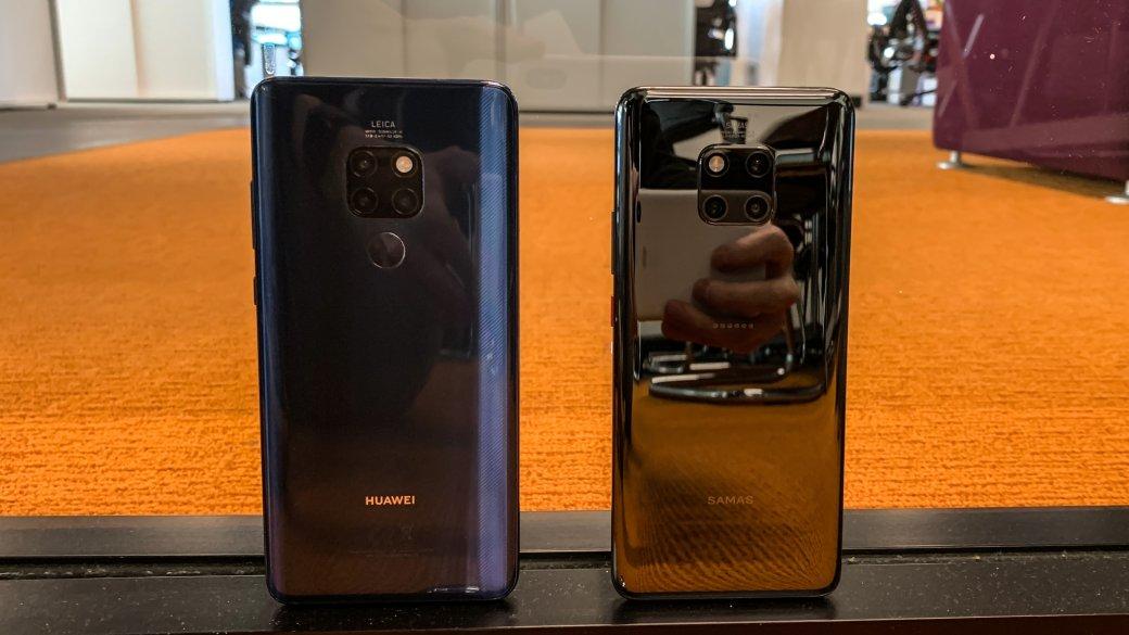 Первый взгляд: Huawei Mate 20 и20 Pro стремя основными камерами | Канобу - Изображение 1369