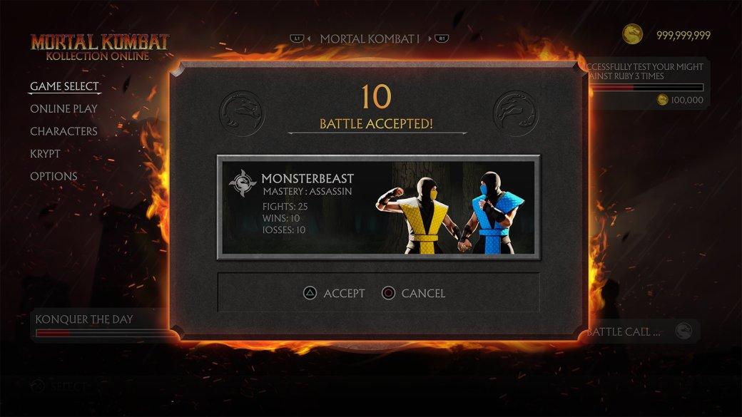 В интернете появились скриншоты отмененного ремастера оригинальной трилогии Mortal Kombat | Канобу - Изображение 5