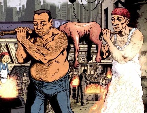 Комиксы: Transmetropolitan   Канобу - Изображение 889
