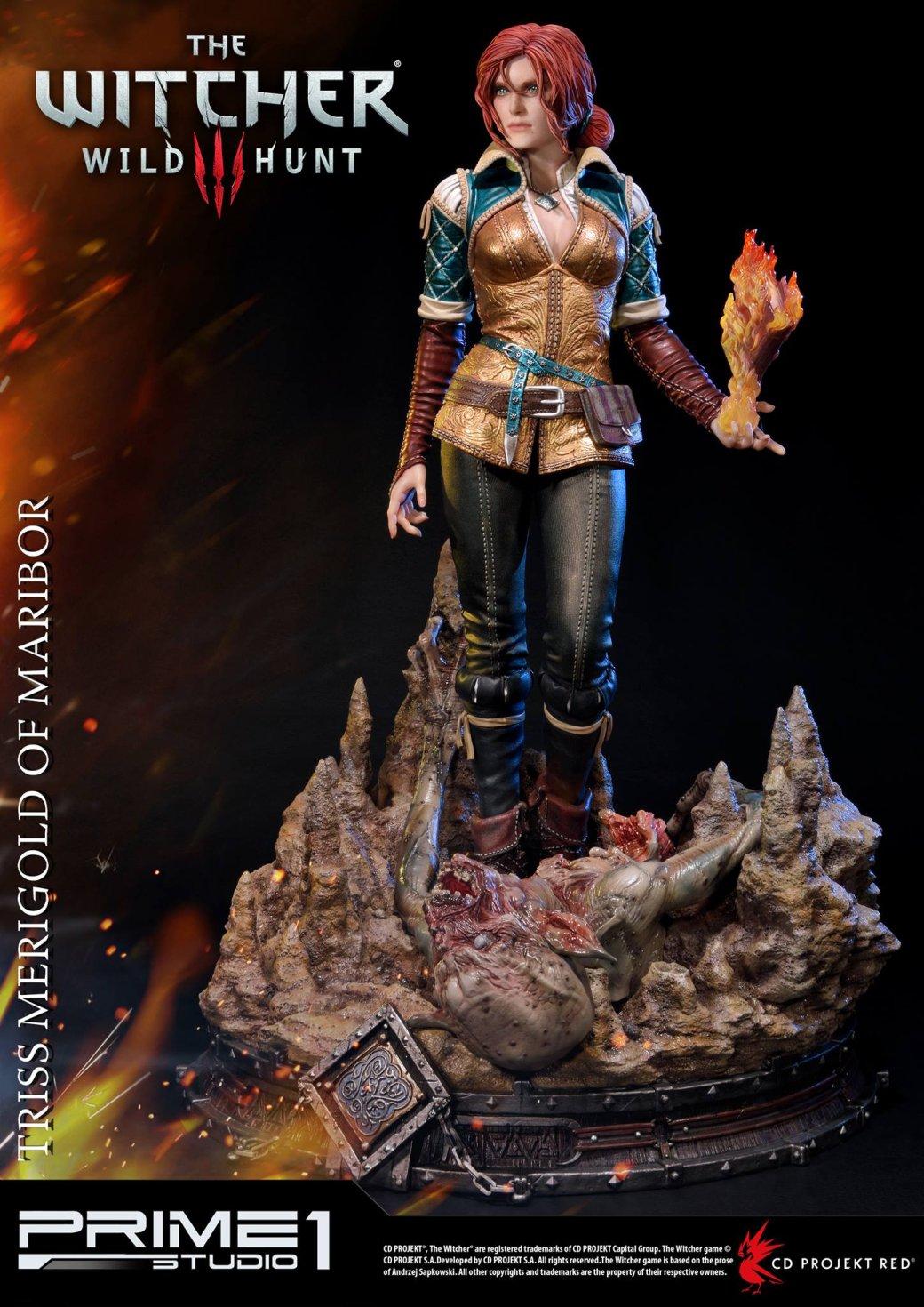 Новая статуэтка Трисс из«Ведьмака 3» стоит как PS4 Pro состопкой игр | Канобу - Изображение 13468