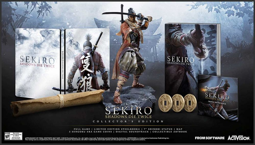 Создатели Sekiro: Shadows Die Twice раскрыли ее дату выхода и показали коллекционное издание | Канобу - Изображение 1577
