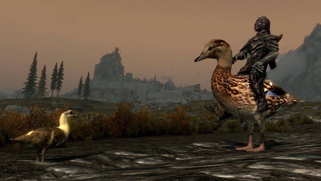 Сэтим модом вSkyrim можно кататься нагигантских курицах иутках. Почемубы инет | Канобу - Изображение 603