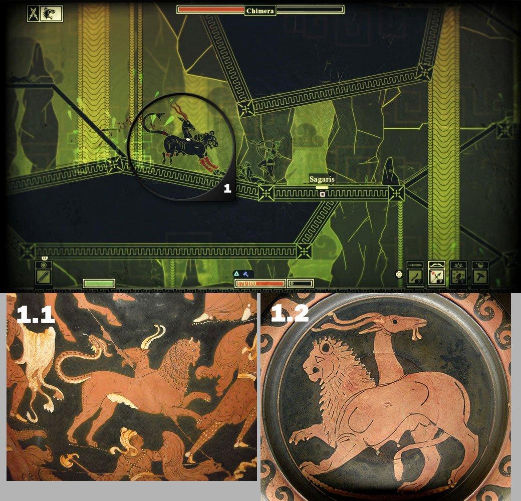 Как создавался визуальный стиль Apotheon | Канобу - Изображение 1