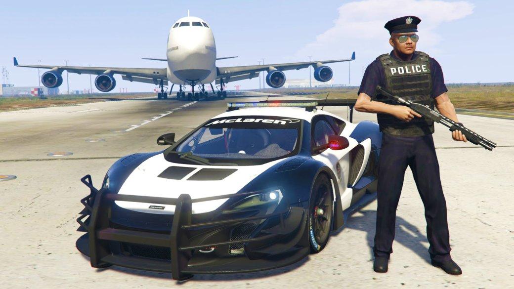 Гифка дня: как работает американская полиция напримере Grand Theft Auto5. - Изображение 1