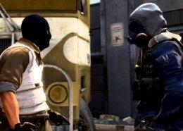 Вматче поCS:GOигрок остановил атаку террористов, заблокировав проход собственным телом