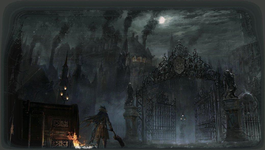 Bloodborne – готика, кровь, кошмар   Канобу